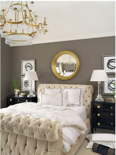 Decorating With Tufted Furniture Home Bedroom Home Gold Bedroom