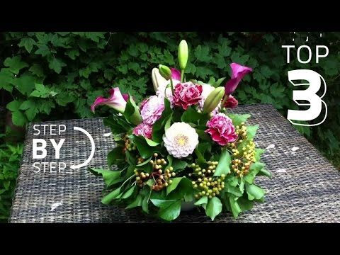 Oasis Floral Products How To Glad Tidings Youtube