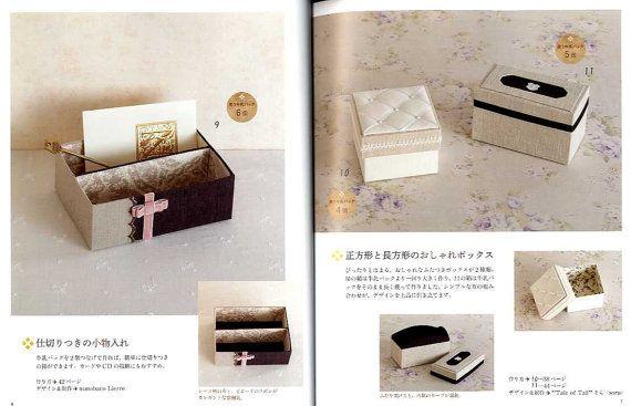 MILK CARTON Useful Organizers - Japanese Craft Book | Recycled milk ...