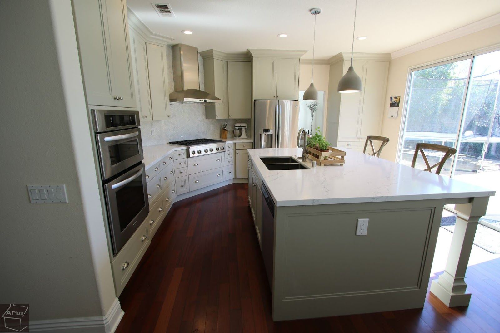 Transitional Design Build #kitchens #remodel In Tustin Orange Gorgeous Contemporary Style Kitchen Cabinets Decorating Inspiration