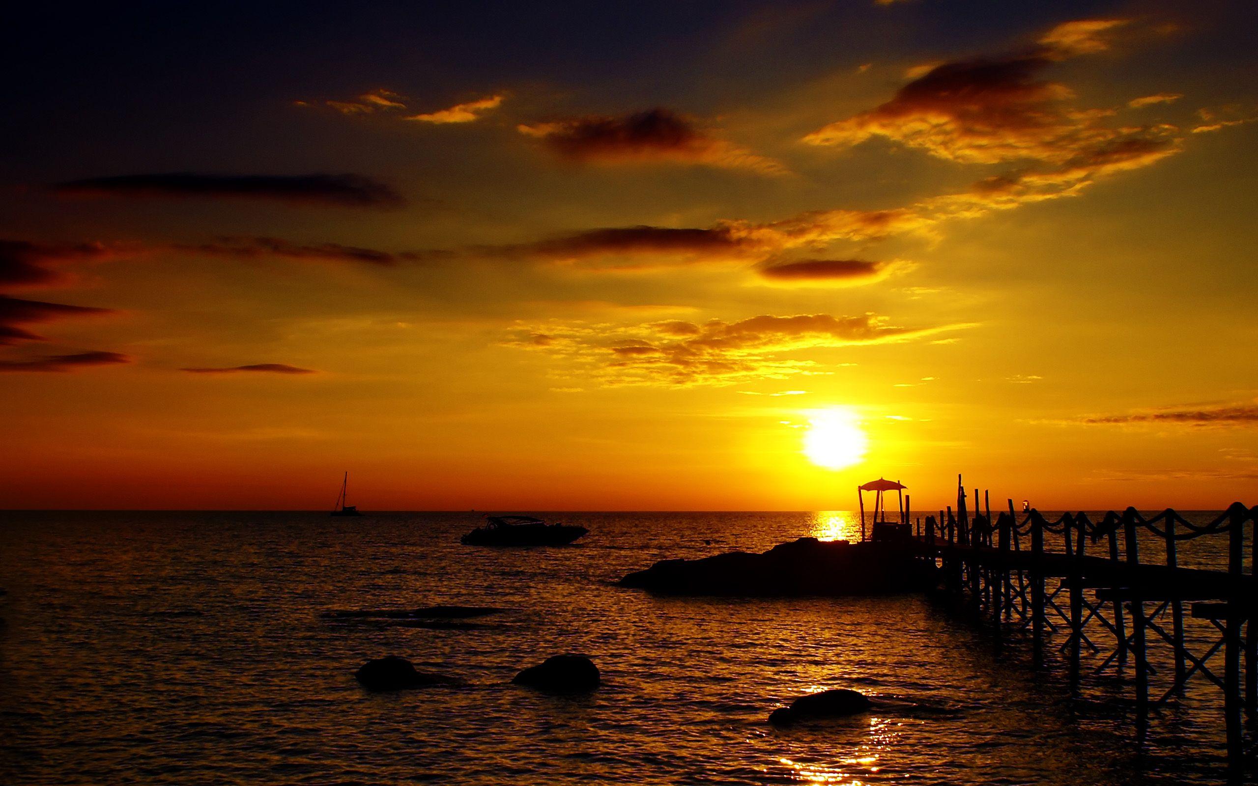 pin golden sunset hd - photo #5
