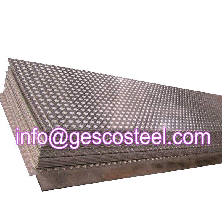 Checkered Steel Plate Steel Plate Steel Sheet Steel