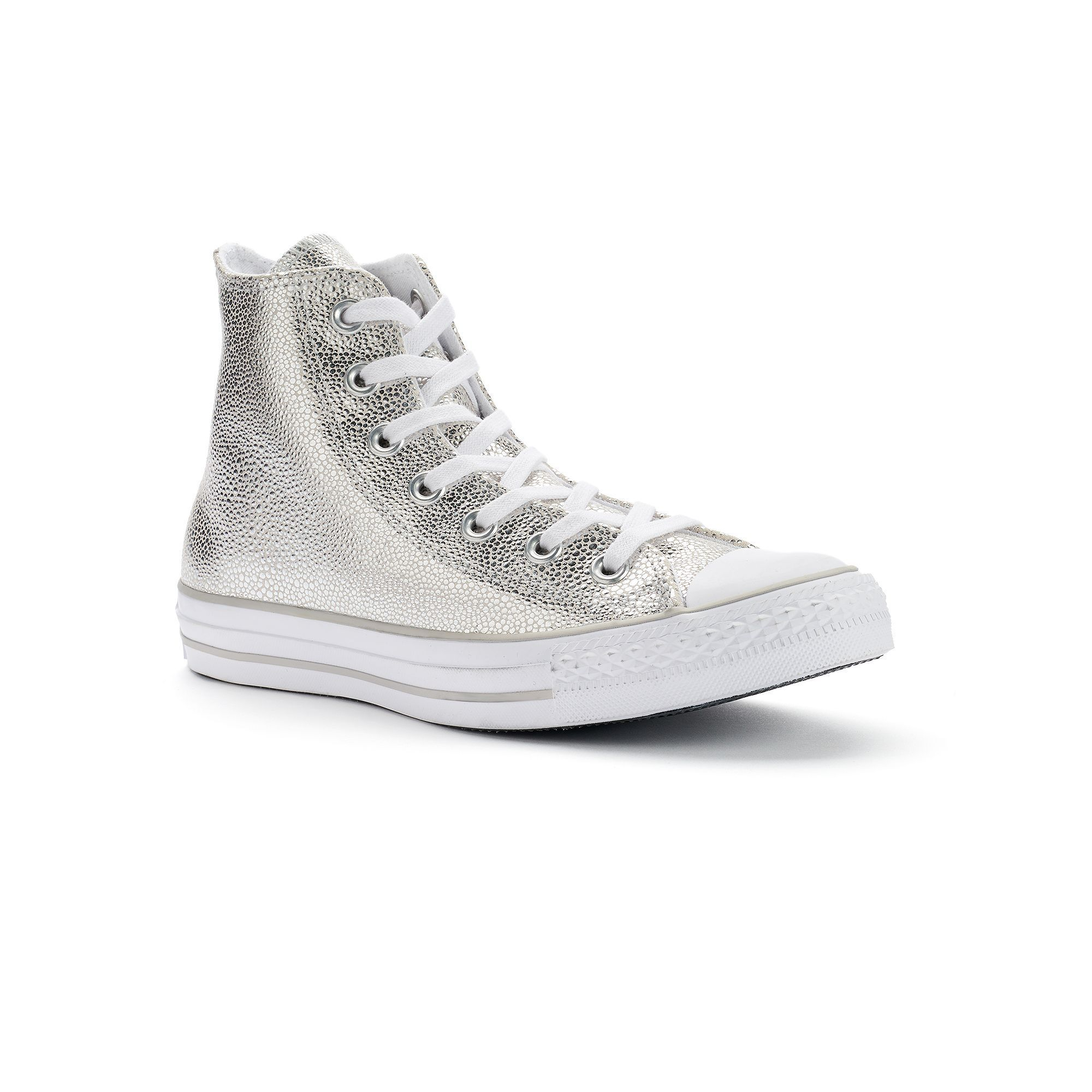 a97768d57f53 Women s Converse Chuck Taylor All Star Stingray Metallic High-Top Sneakers