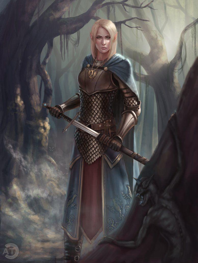 Pin by Dracconnis on Fantasy 15 | Fantasy art, Female elf ...