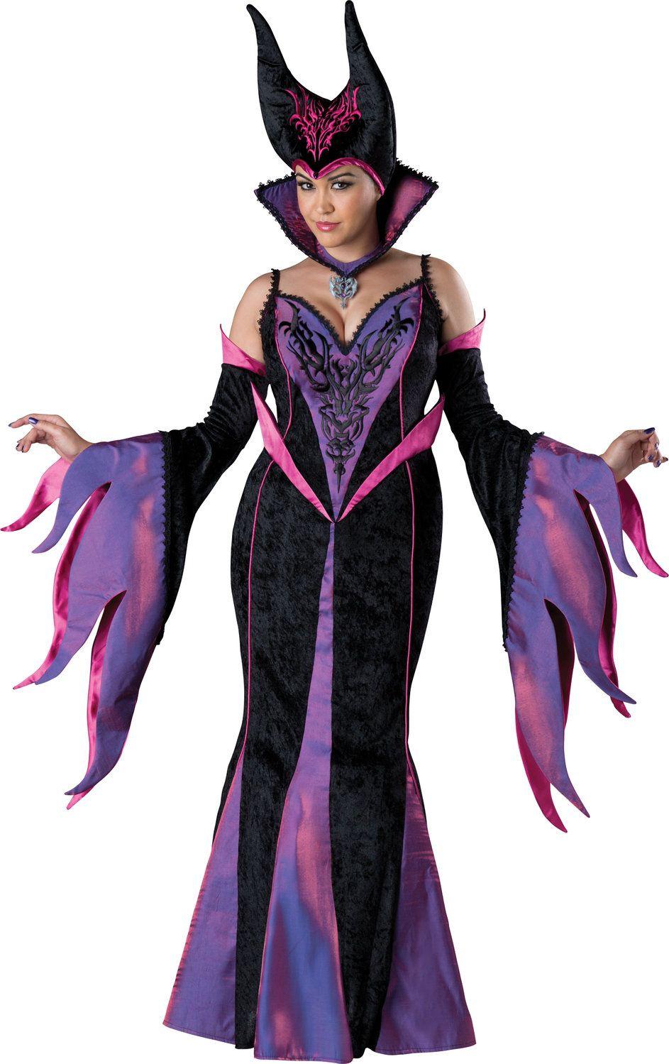 Maleficent Dark Sorceress Plus Size Costume Mr. Costumes