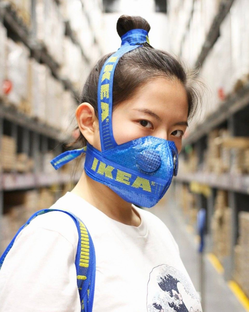 The Designer Of The Yeezy Boost 350 Mask Returns With The Ikea