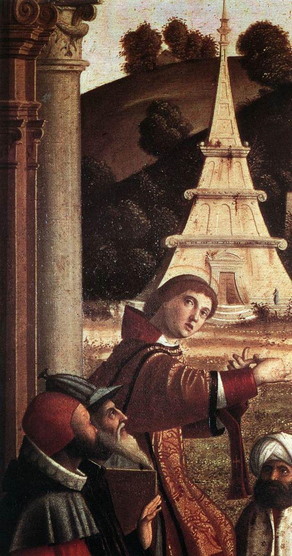 Disputation of St Stephen by CARPACCIO, Vittore #art