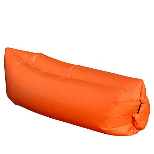 Sensational Orange Camping Sleeping Bags Fast Inflatable Sofa Portable Ncnpc Chair Design For Home Ncnpcorg