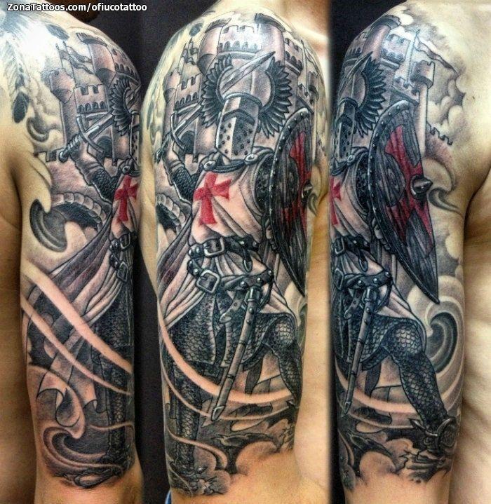 Tatuaje De Templarios, Brazo