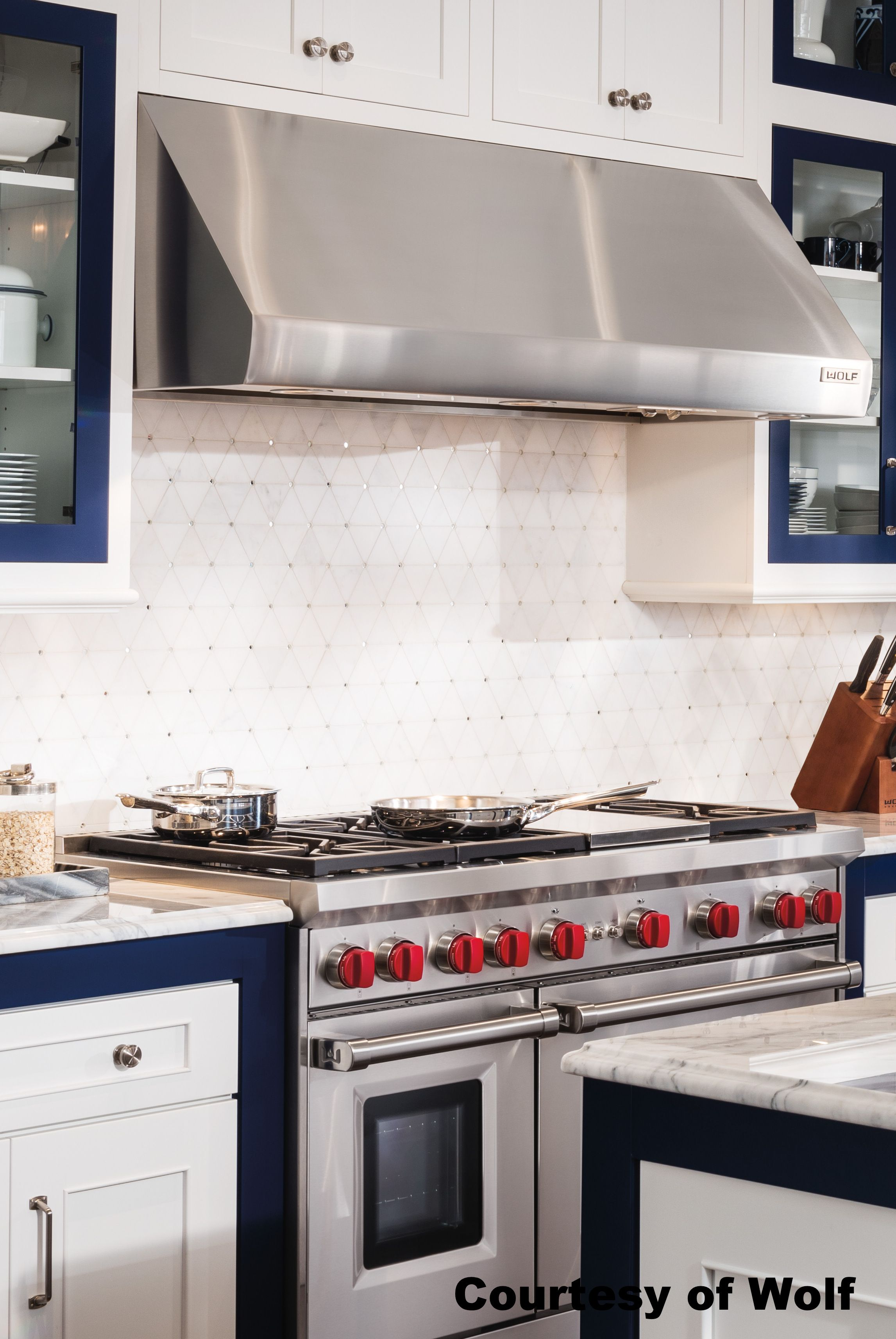 A range hood mounted against a wall is the most effective way to get ...
