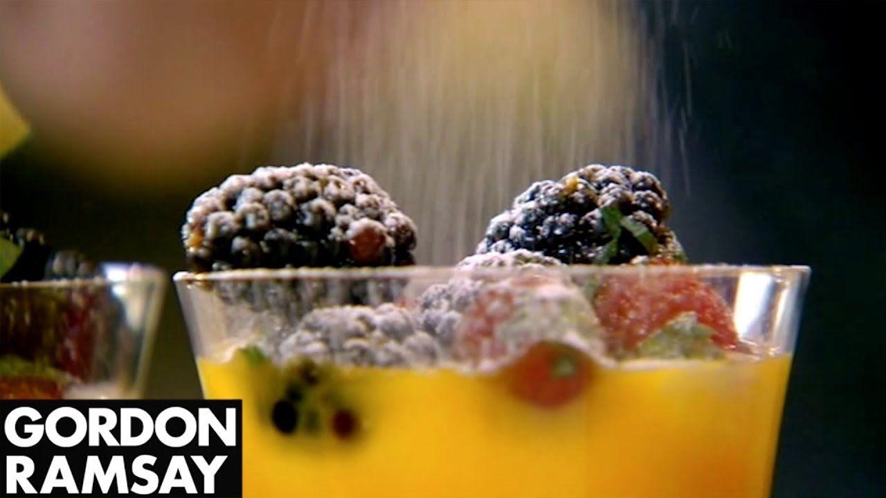 Mango Sundae From Gordon Ramsay - YouTube | Sweet Treats