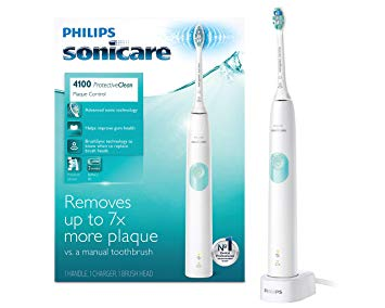 Philips Sonicare Protectiveclean 4100 Electric Rechargeable Toothbrush Plaque Control Shopabide Brushing Teeth