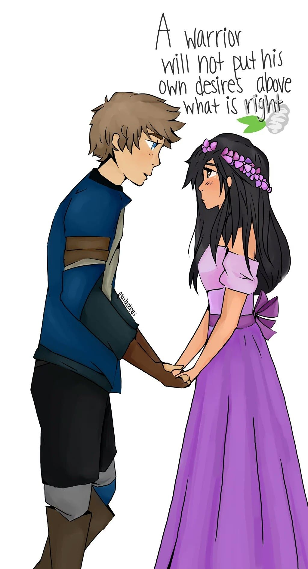 Laurmau ❤️ I think I ship every guy with Aphmau but not Dante and