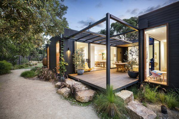 The Merricks Beach House Modern Home in Merricks Beach, Victoria,…