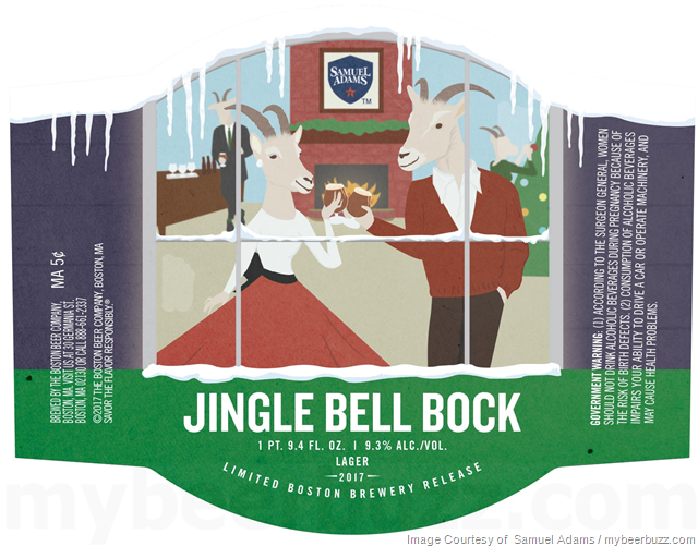 Mybeerbuzz Com Your Home For Breaking Beer News And Exciting Pre Release Craft Beers Samuel Adams Jingle Bells Jingle