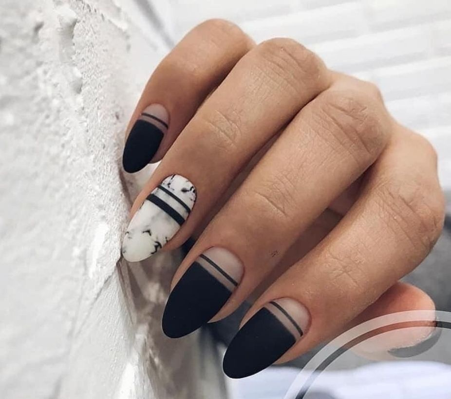 25 Most Stuninng and Gorgeous Matte Nails for Trendy 2019 #mattenails