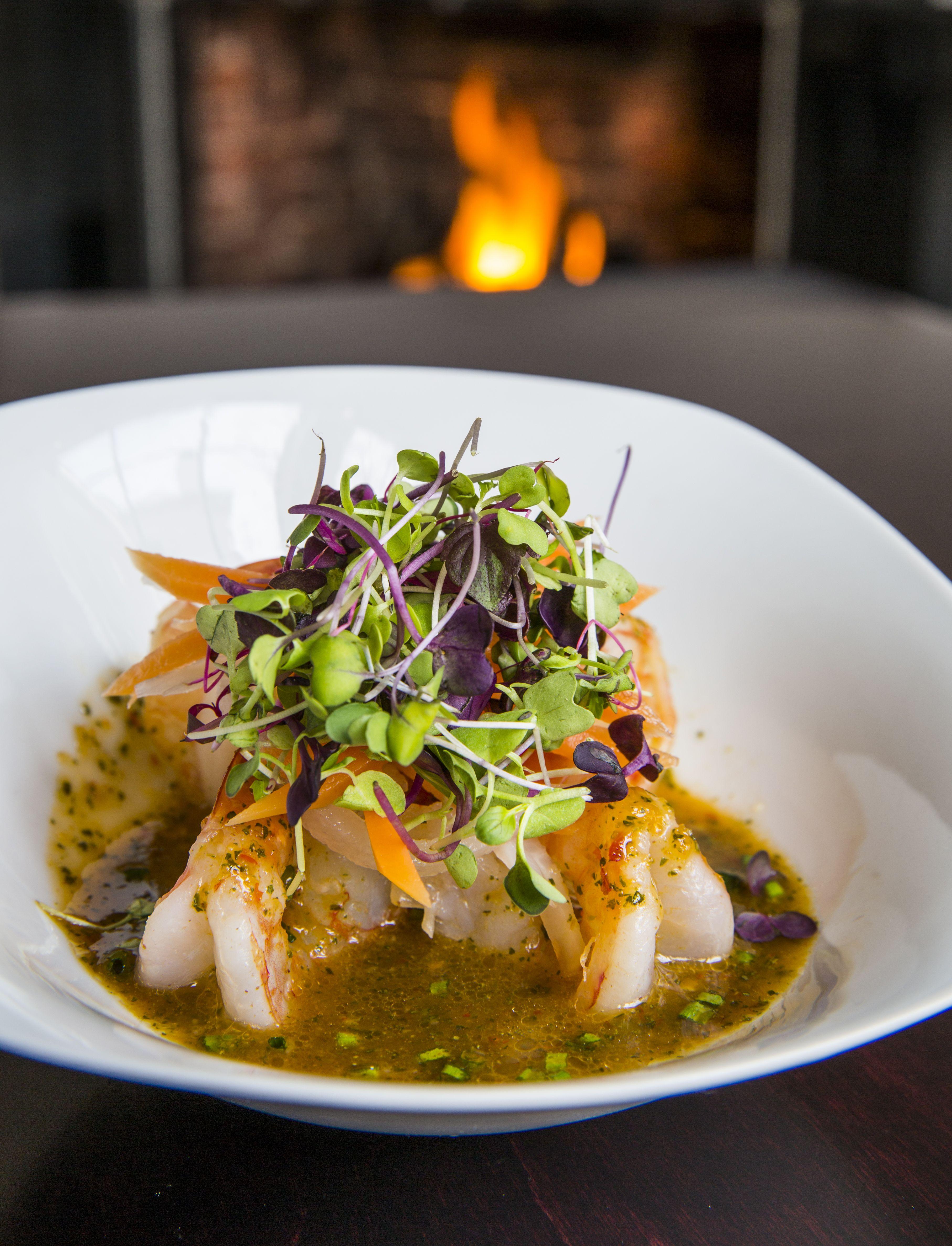 Pan Seared Jumbo Shrimp from Chatham Wine Bar & Restaurant #newenglandeats #chathamwinebar