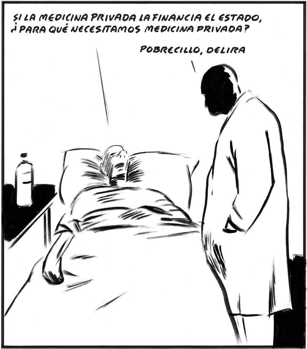 Resultado de imagen de chiste forges sanidad privada