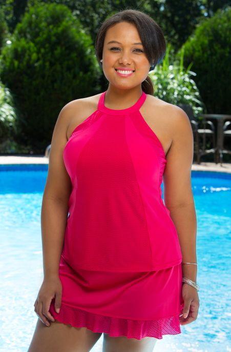stylish swimsuits for plus size women | women's plus size swimwear