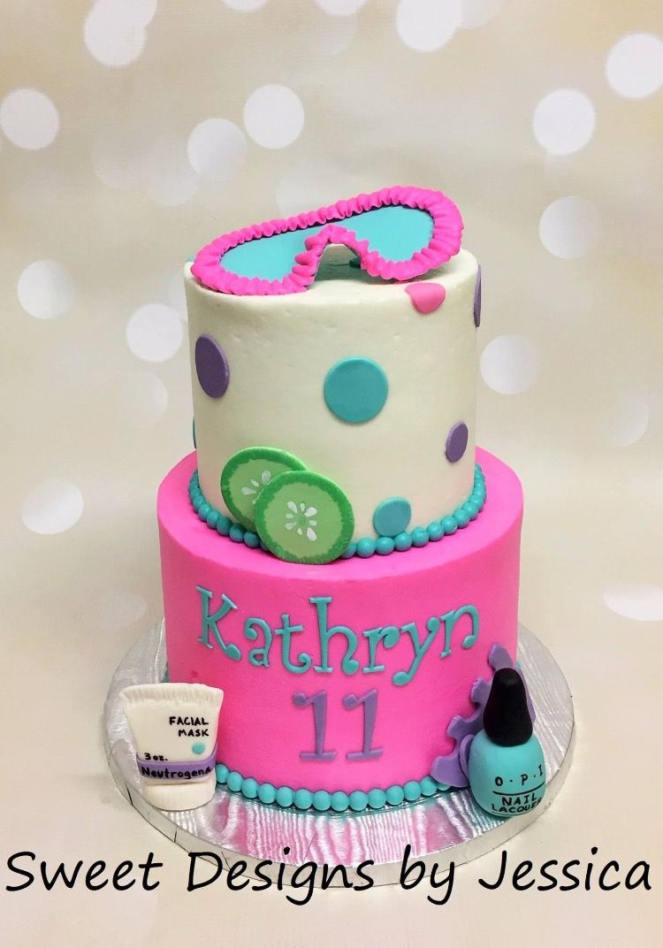 Spa themed cake My Cakes Pinterest Themed cakes and Cake