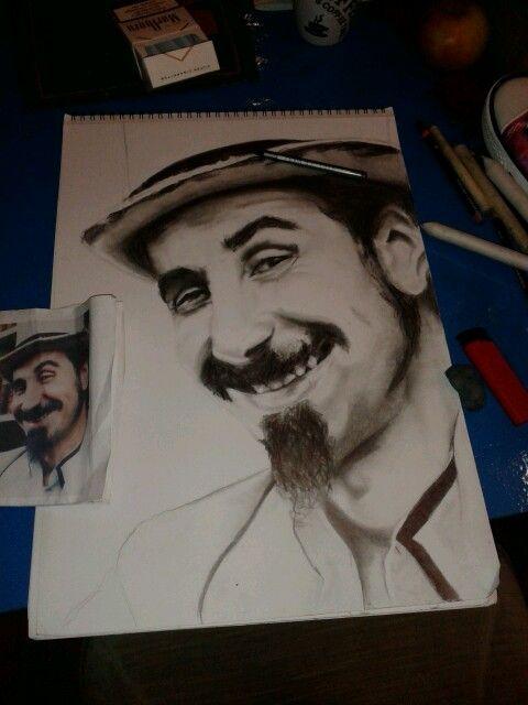 Serj Tankian (system of a down) | Male sketch, Portrait