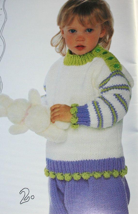 b70f38ecf1ac1f Sweater Knitting Patterns Canadiana Kids I Beehive Patons 657 ...