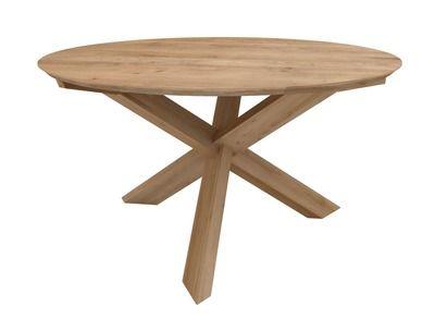 table ronde chêne circle   circles, puzzles and chang'e 3
