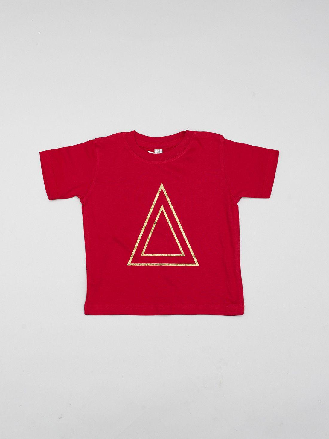 Kids Red T- Tri
