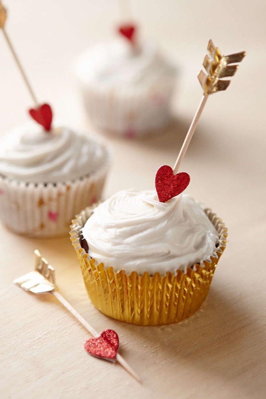 Valentine's cupcakes ✿⊱╮
