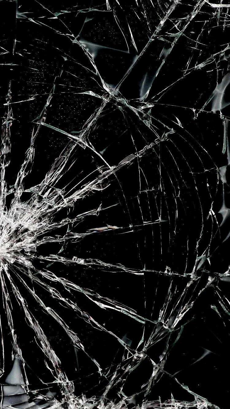 Broken Broken Screen Wallpaper Broken Glass Wallpaper Phone Screen Wallpaper