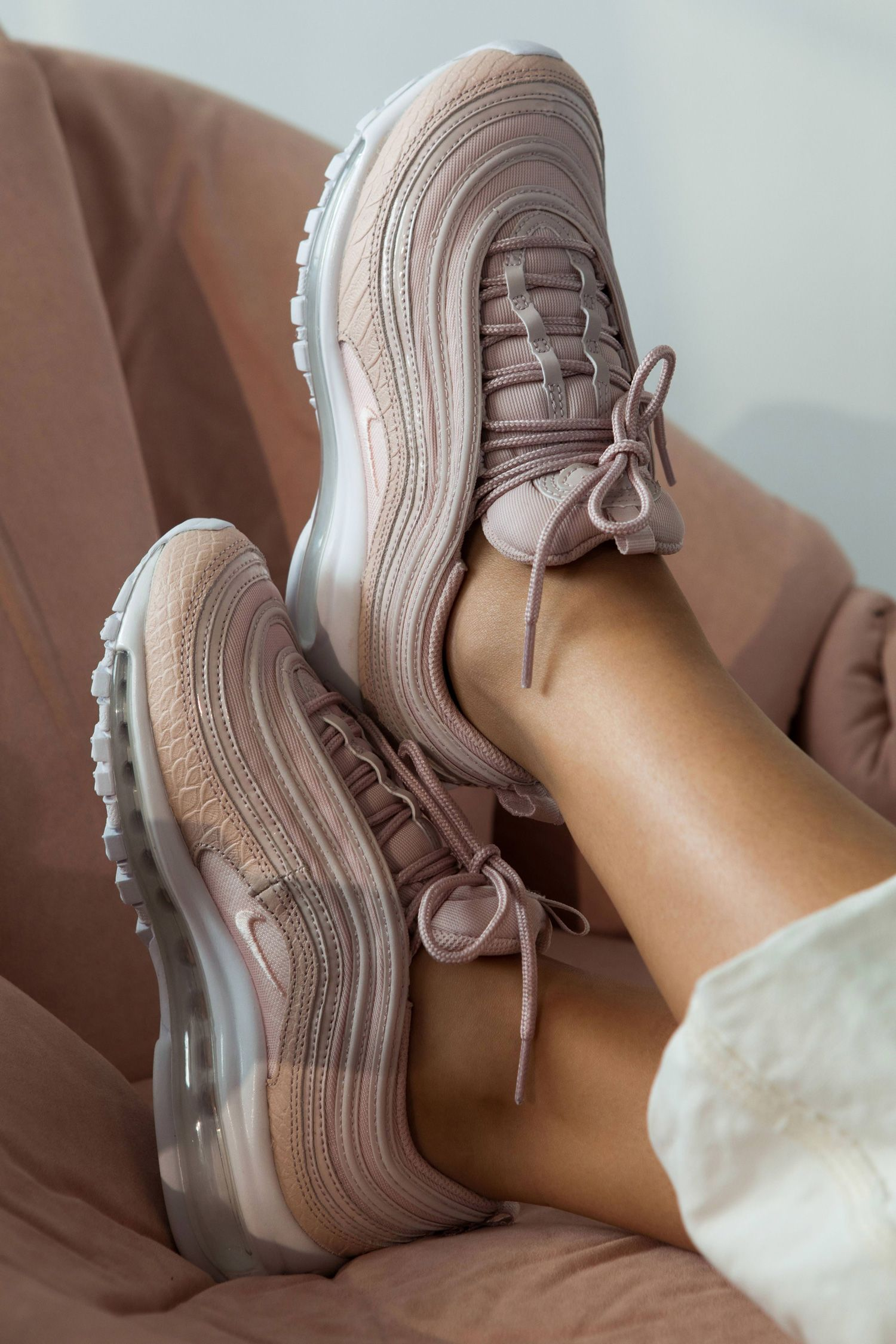 Nike Air Max 97 Premium Baskets Rose