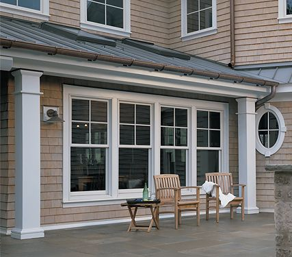 Anderson Half Grid Double Hung Windows Plus I Like The