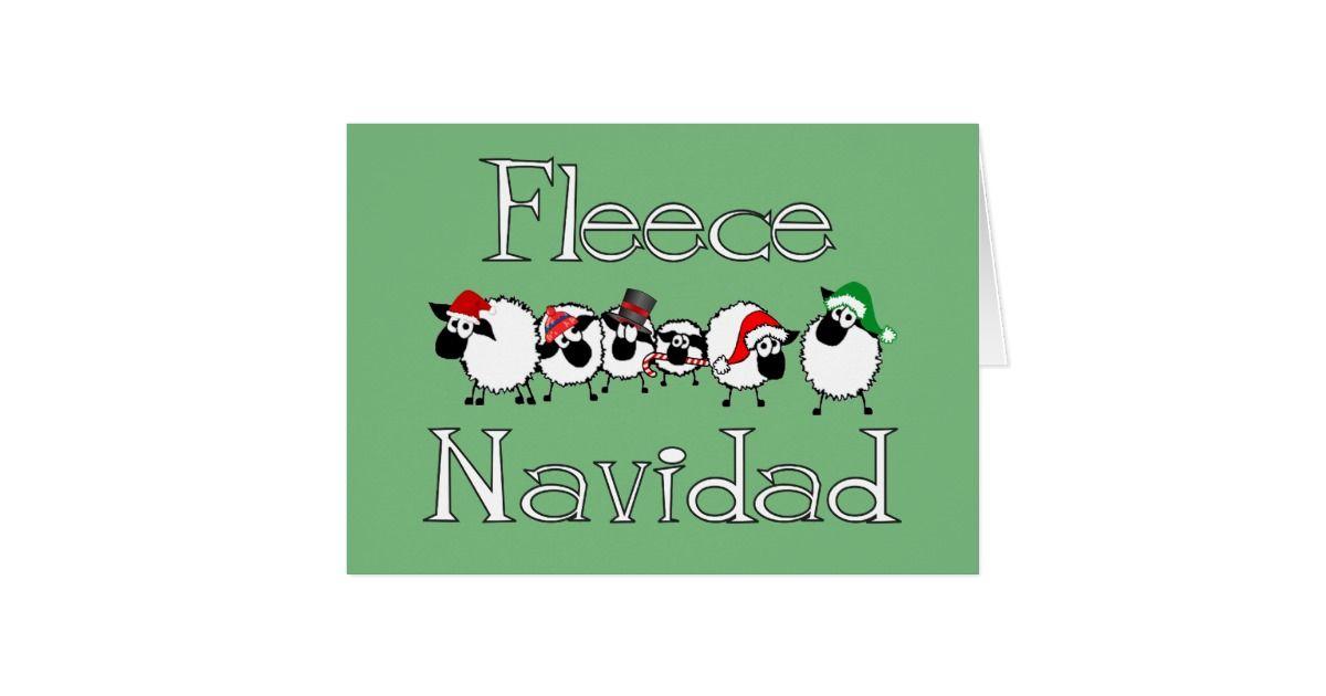 Fleece Navidad Funny Christmas Card Christmas Cards for the Holidays ...