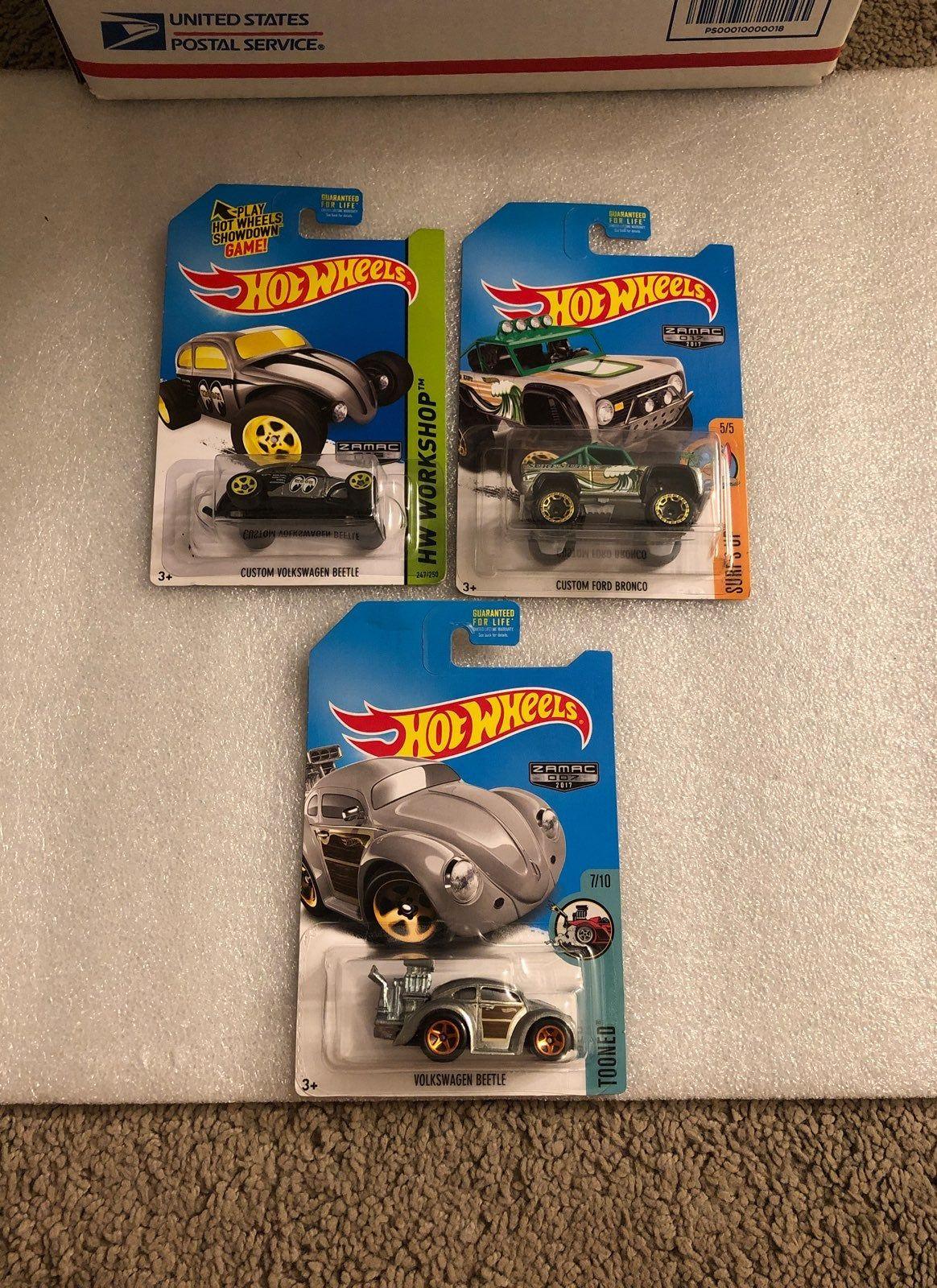 I Got These Zamac Hotwheel Set Which Are Custom Volkswagen Beetle