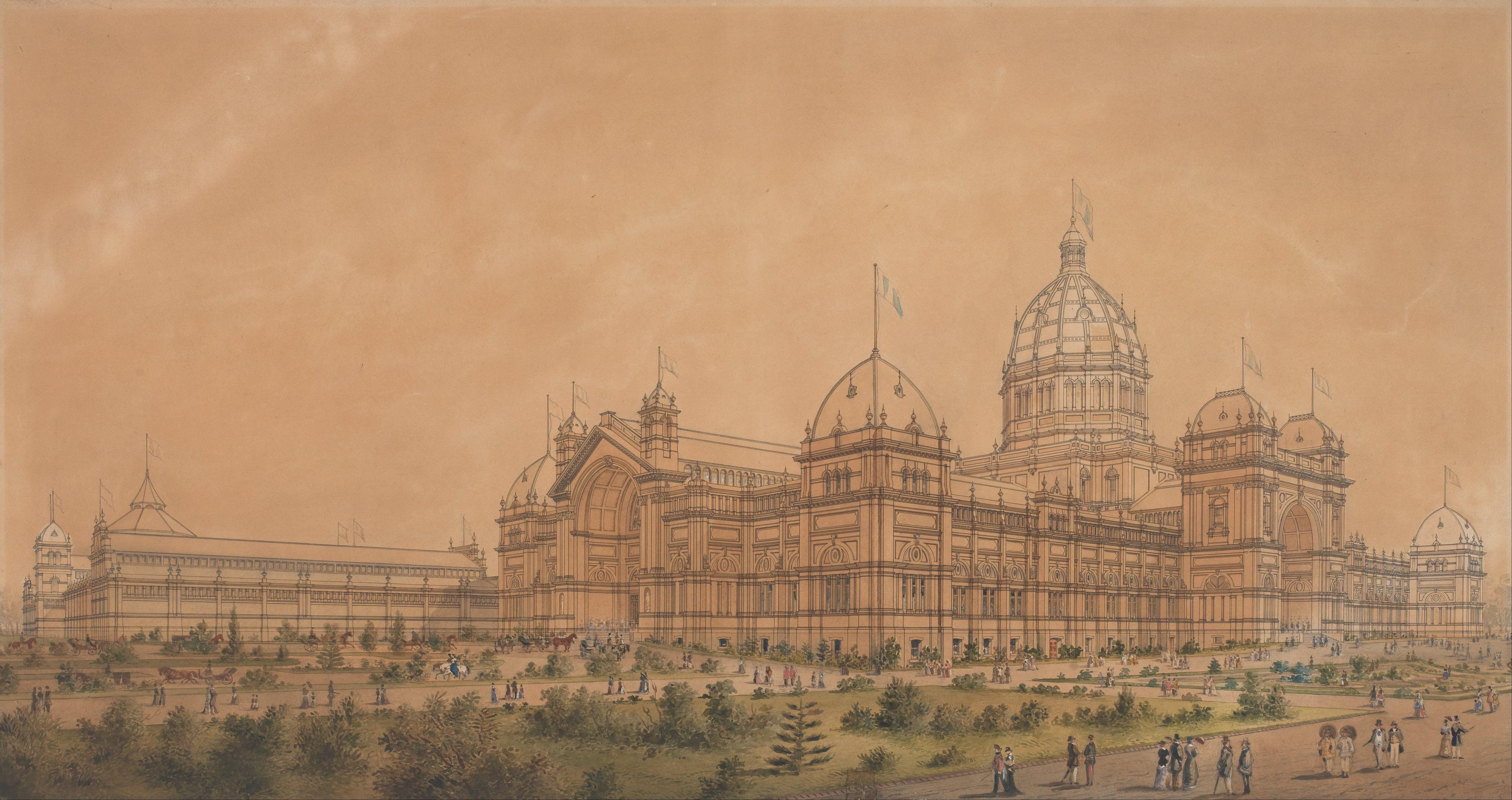 Melbourne International Exhibition (1880) | The VICTORIAN Era ...