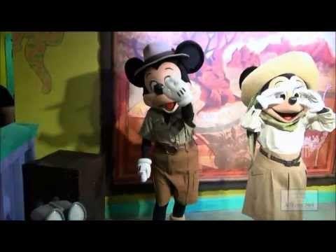 Adventurers Outpost el nuevo sector para fotos y autógrafos con Mickey y Minnie en Animal Kingdom -  Video de Allears.com