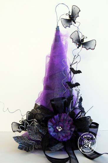 Purple witch hat, LOVE this hat!