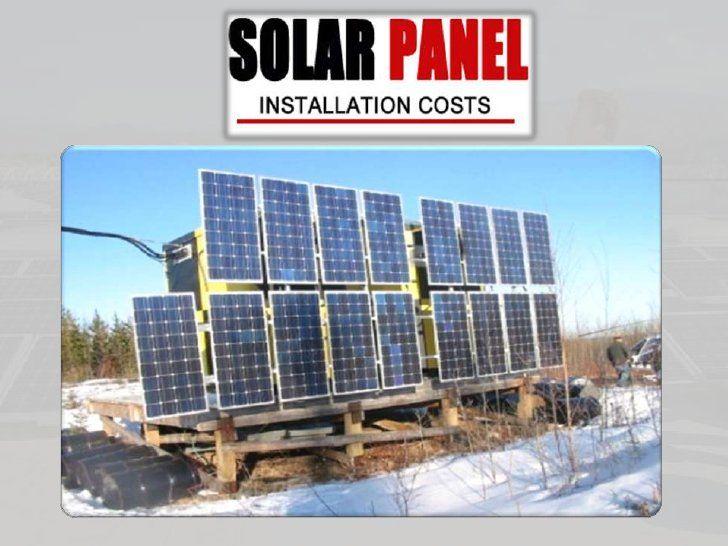 Solar Panels Cost By Solarpanelscost Via Slideshare Solar Panel Cost Solar Panels Solar