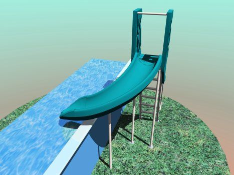 Exceptionnel Above Ground Pool Slide