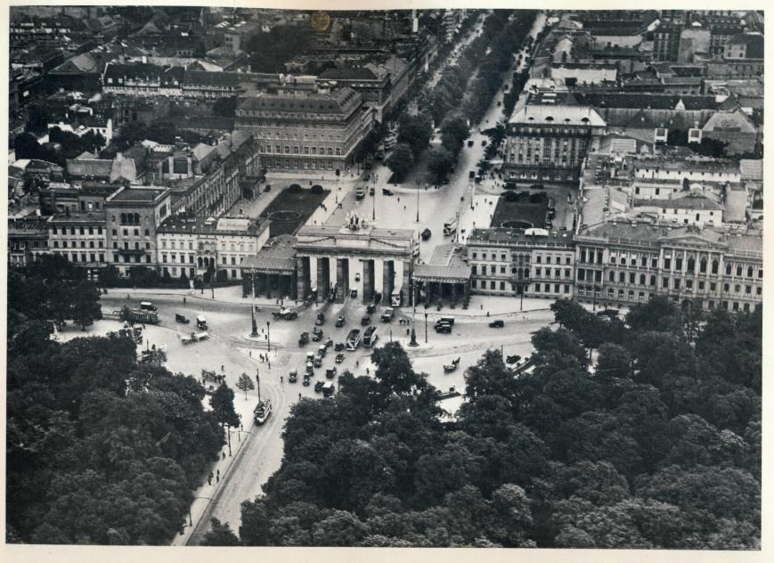 Preussisches Berlin Luftaufnahme Berlin Geschichte Berlin Stadt