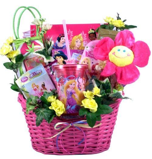 Princess gift basket for little girls easter baskets pinterest easter baskets princess gift basket for little girls negle Choice Image