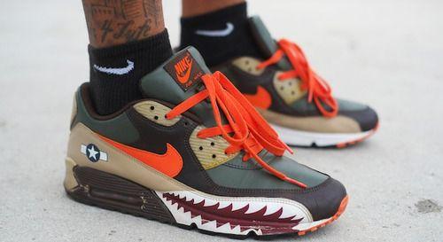 Nike Air Max 90 Armed Forces | Shoes | Nike heels, Nike air