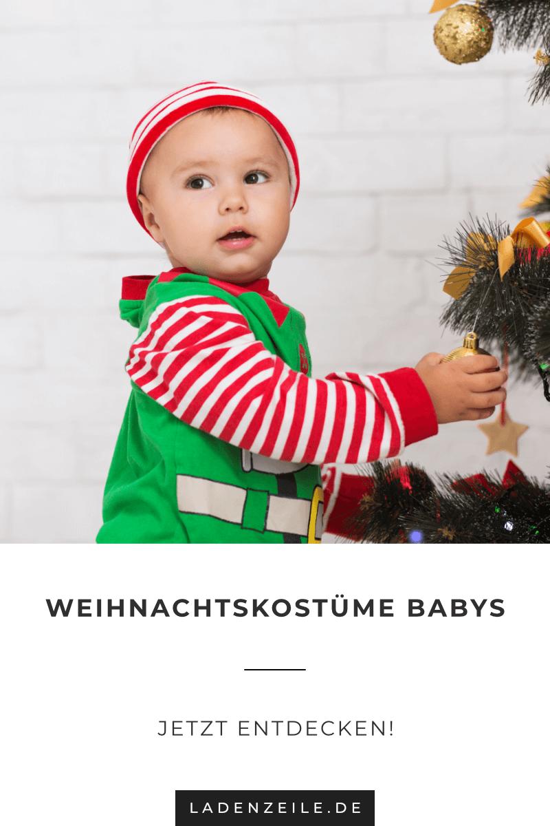 Babypullover mit Weihnachtsmotiven