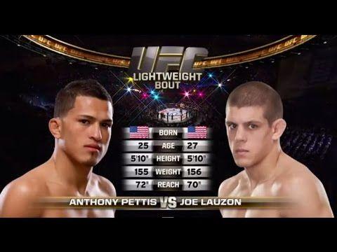 Ufc 185 Free Fight Anthony Pettis Vs Joe Lauzon Joe Lauzon Ufc Ufc News