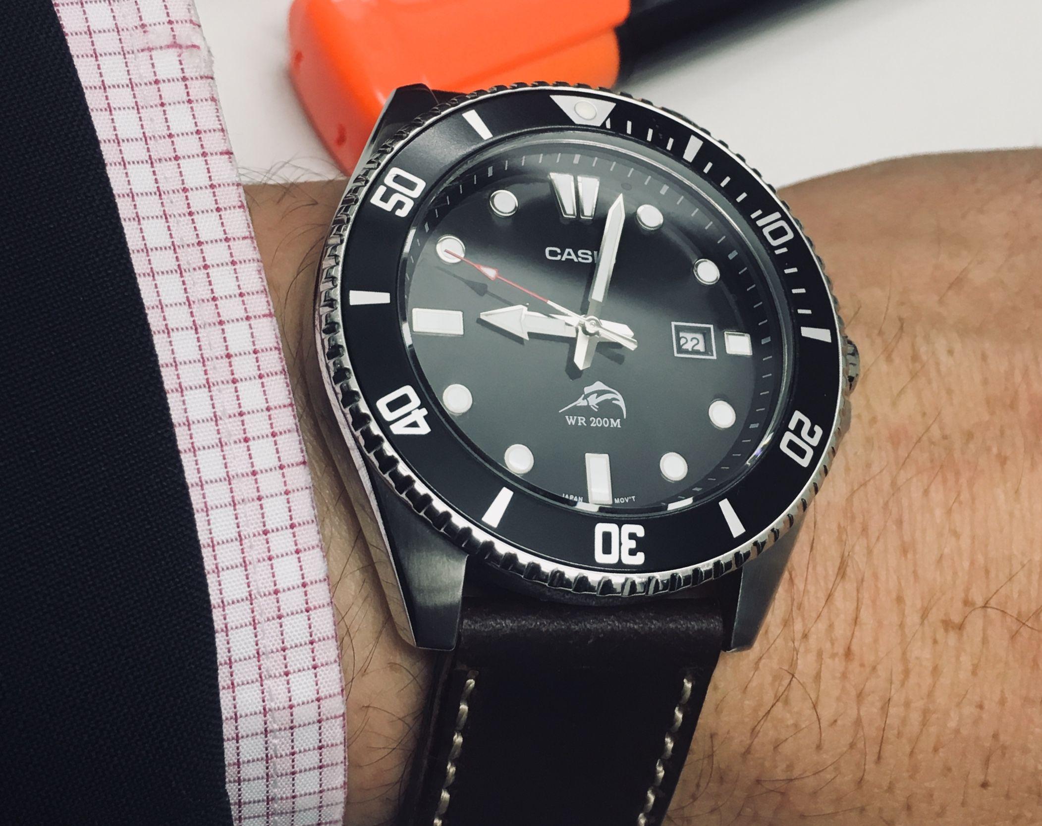 1aRelojes Mdv106 200m Casio Divers Reloj PuZiOkTX