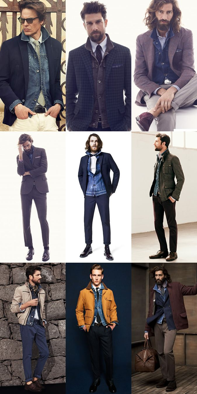 Smart Casual And Formal Denim Jacket Trends Tips Smart Casual