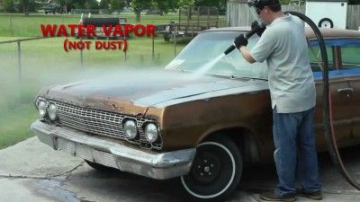 Dustless Blasting Is The Fastest And Cleanest Alternative To Removing Car Paint Impala Car Chevrolet Impala