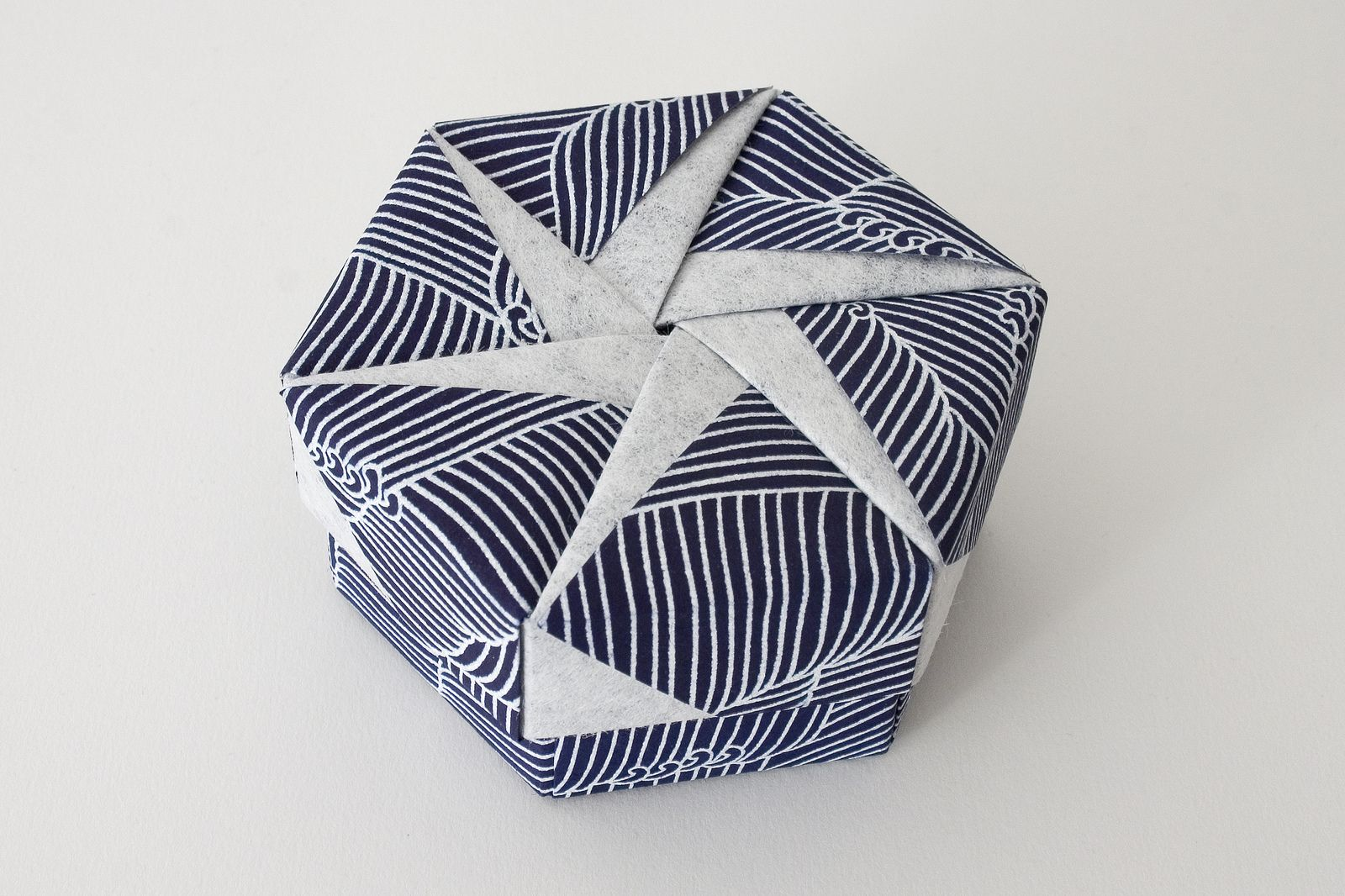 medium resolution of hexagonal origami box with lid 16 flickr photo sharing