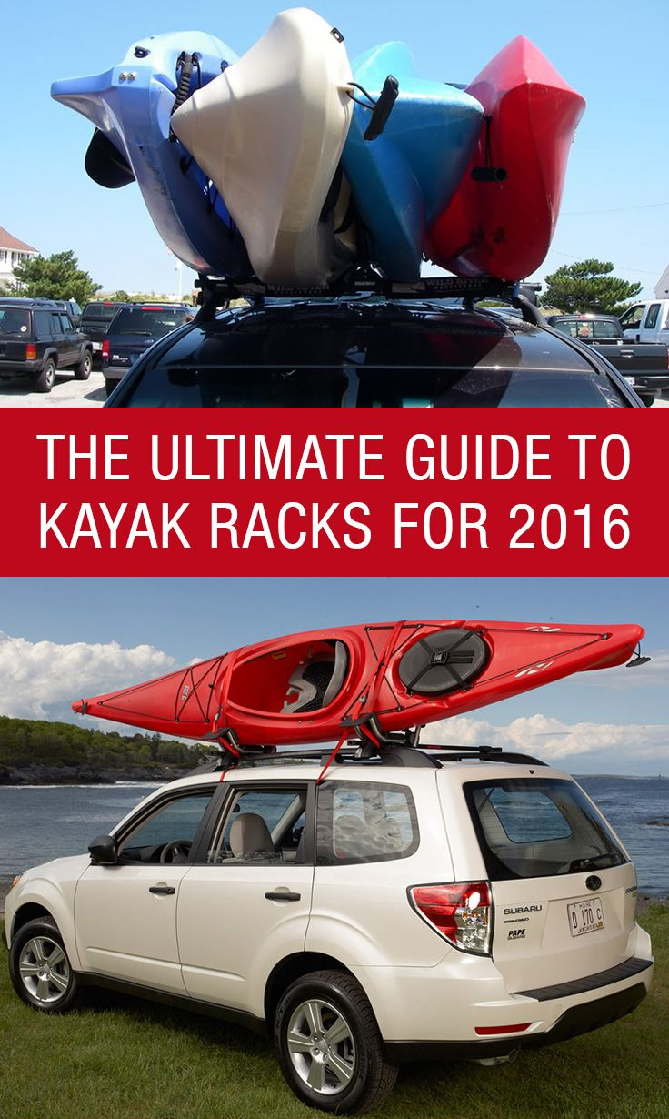 The Ultimate Guide To Kayak Racks For 2016: Http://www.kayakroofracks