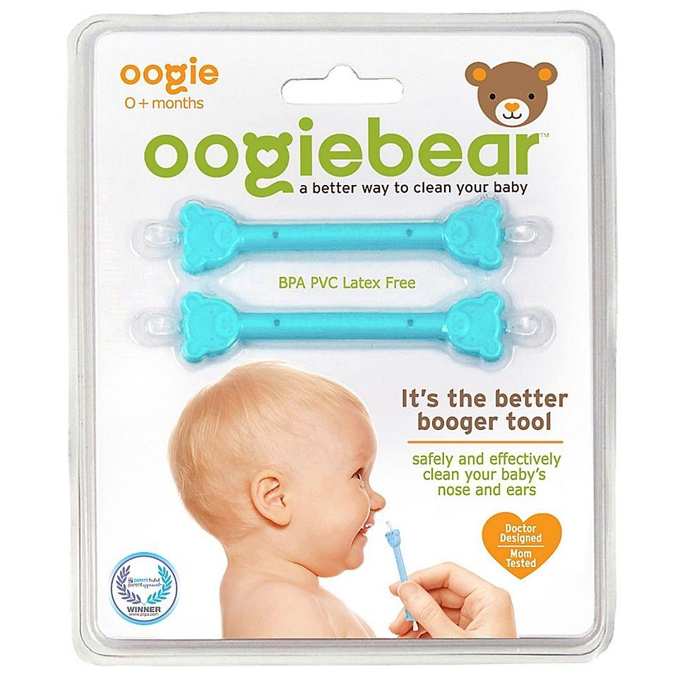 oogiebear® 2Pack Infant Nose & Ear Cleaner in Blue/Blue